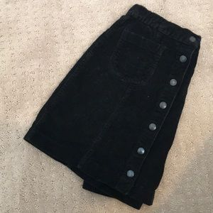 Brandy Melville Stretchy Corduroy Skirt